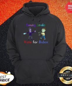 Dancing Zombies Vote For Biden Corona Virus Halloween Hoodie