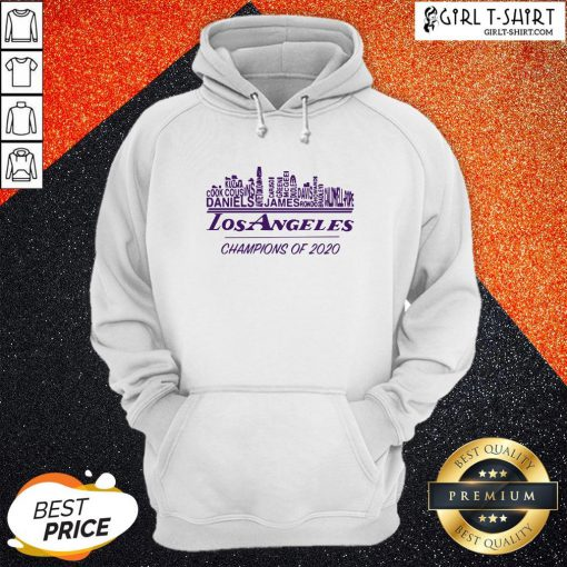 Finals Los Angeles Champions Of 2020 Nba Western Conference Hoodie