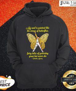 Freddie Mercury My Soul Is Painted Like The Wings Of Butterflies Hoodie