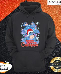 Funny Eeyore We Are Never Too Old For Christmas Hoodie