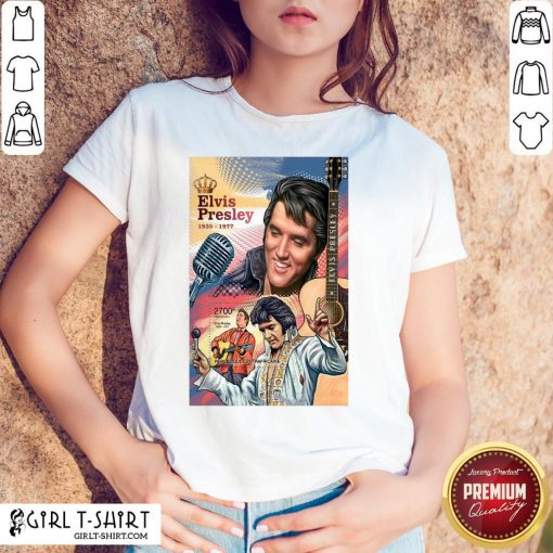 Funny Elvis Preslety 1935 1977 Poster Canvas Print King Shirt