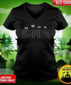 Funny New York Empire V-neck