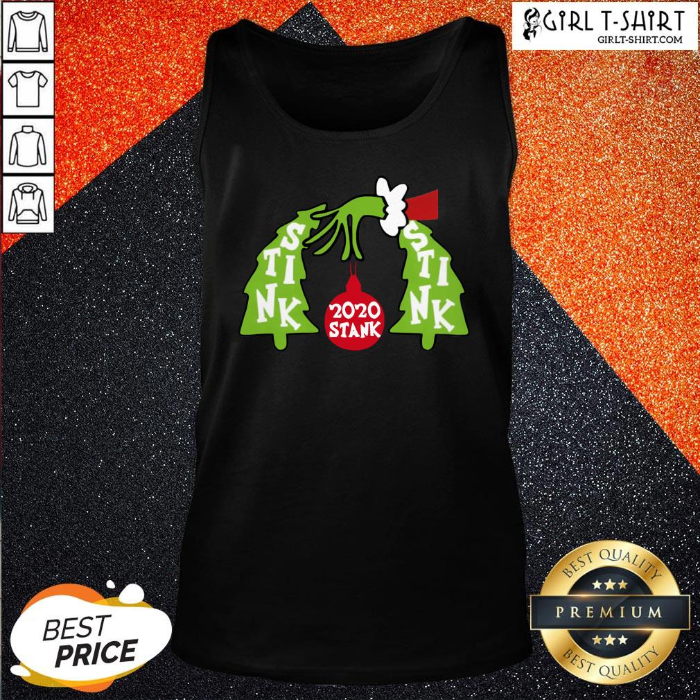 Good Funny Grinch 2020 Stink Stank Stunk Christmas Tank Top - Design By Girltshirt.com