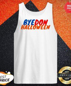 Happy Bye Don Halloween Tank Top