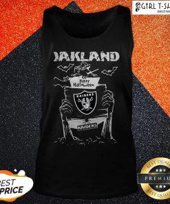Happy Halloween Witch Oklahoma Raiders Tank Top