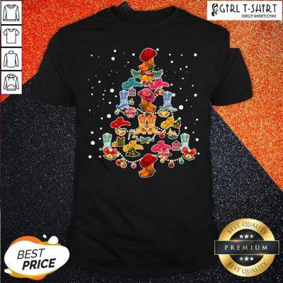 Happy Merry Christmas Line Dance Shirt- Design By Girltshirt.com