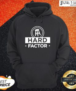 Hard Factor Logo Tee Hoodie