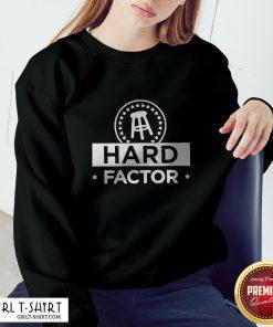 Hard Factor Logo Tee Sweatshirt