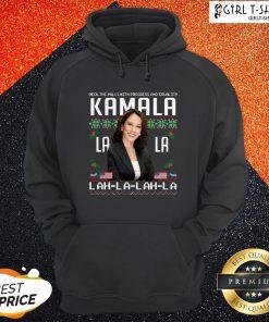 Harris Deck The Halls With Progress And Equality Kamala Lah La Lah La Christmas Hoodie