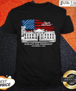 Have Join The One Percent Schlatt For President November 3 2020 Shirt - Design By Girltshirt.com