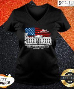 Have Join The One Percent Schlatt For President November 3 2020 V-neck - Design By Girltshirt.com