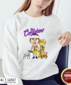 Have The Car Show Los Angeles Lakers Sweatshirt- Design By Girltshirt.com