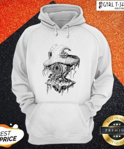 Hope Witchs Hut Hovel Castle Medieval Surreal Series Inkomancer Hoodie - Design By Girltshirt.com