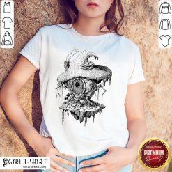 Hope Witchs Hut Hovel Castle Medieval Surreal Series Inkomancer Shirt- Design By Girltshirt.com