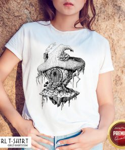 Hope Witchs Hut Hovel Castle Medieval Surreal Series Inkomancer Shirt- Design By Girltshirt.com