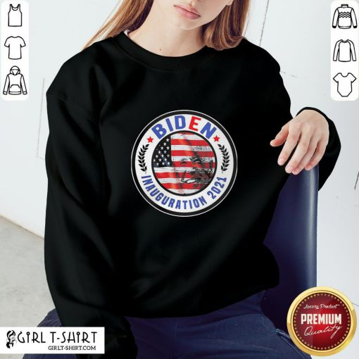 How Biden Inauguration 2021 American Flag Sweatshirt - Design By Girltshirt.com