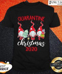 How Gnomies Quarantine Christmas 2020 Shirt - Design By Girltshirt.com