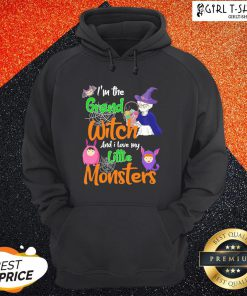 I'm The Grand Witch And I Love My Little Monsters Halloween Hoodie - Design By Girltshirt.com