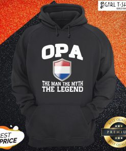Love Opa The Man The Myth The Legend Hoodie- Design By Girltshirt.com