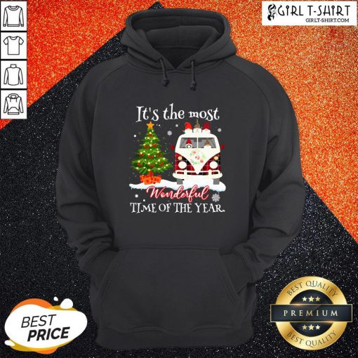 Merry Christmas Gnomies It's The Most Wonderful Time Of The Year Hoodie - Design By Girltshirt.com