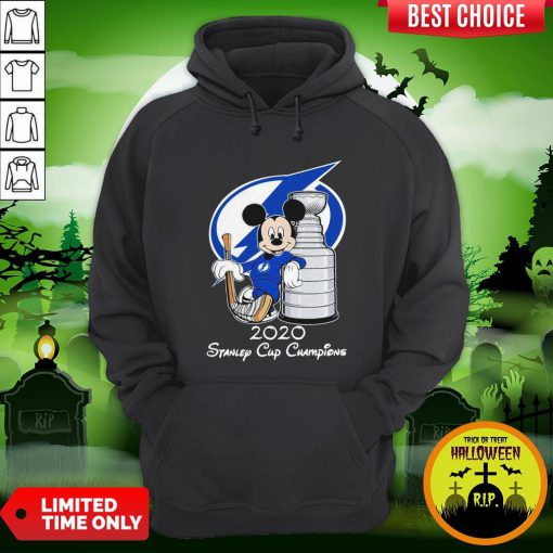 Mickey Mouse 2020 Stanley Cup Champions Hoodie
