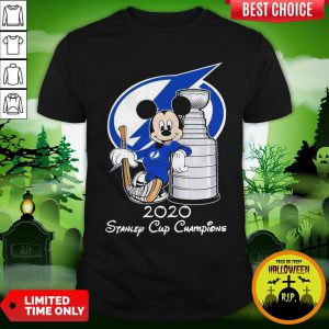 Mickey Mouse 2020 Stanley Cup Champions Shirt