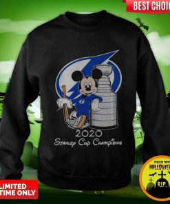 Mickey Mouse 2020 Stanley Cup Champions Sweatshirt