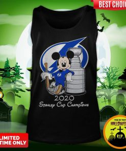 Mickey Mouse 2020 Stanley Cup Champions Tank Top