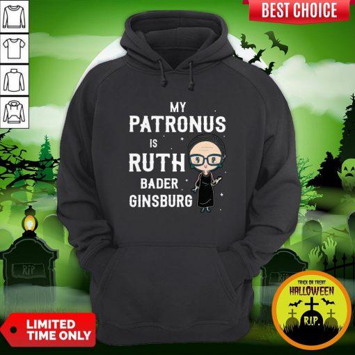 My Patronus Is Ruth Bader Ginsburg Hoodie