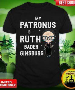 My Patronus Is Ruth Bader Ginsburg Shirt