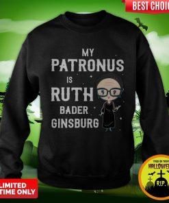 My Patronus Is Ruth Bader Ginsburg Sweatshirt
