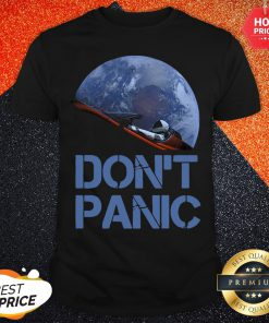 Official Don't Panic Starman Essential Shirt