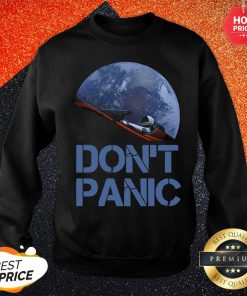 Official Don't Panic Starman Essential Sweatshirt