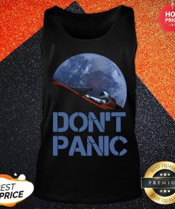 Official Don't Panic Starman Essential Tank Top