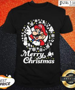 Official Mario Ugly Merry Christmas Shirt - Design By Girltshirt.com