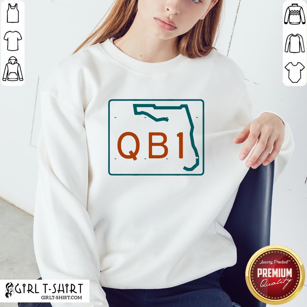 Official Miami QB1 2020 Sweatshirt - Design By Girltshirt.com