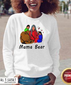 Official Native American Mama Bear V-neck - Design By Girltshirt.com