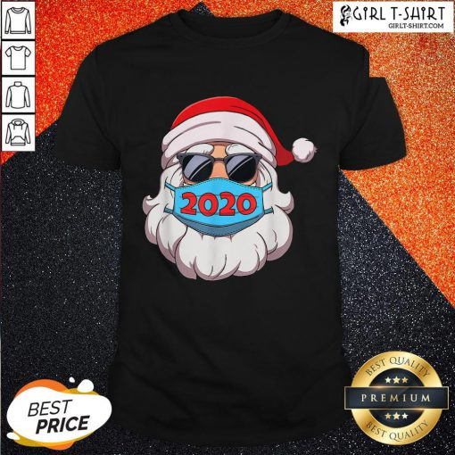 Official Santa Claus Face Mask Glasses 2020 Shirt - Design By Girltshirt.com