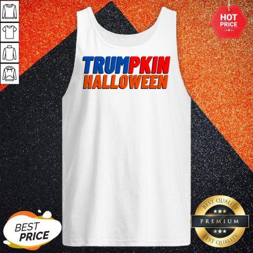 Official Trumpkin Halloween Tank Top