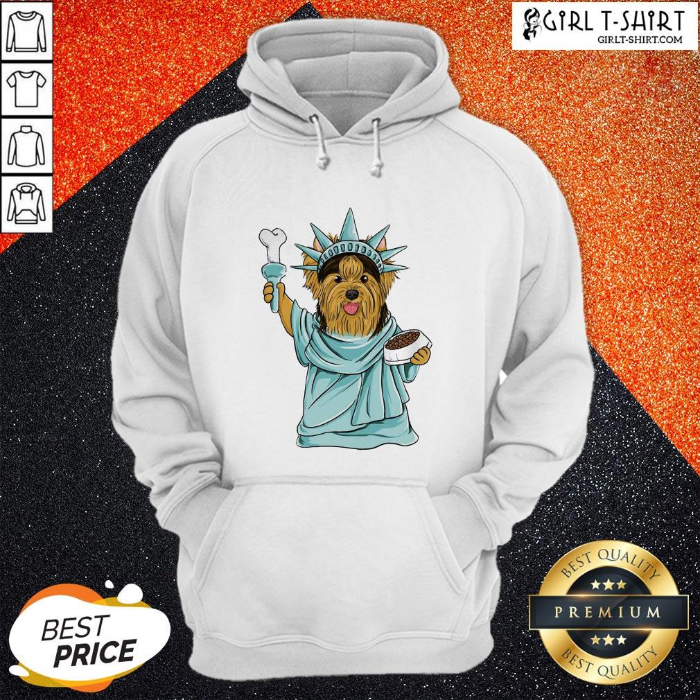 Official Yorkie Liberties Hoodie - Design By Girltshirt.com