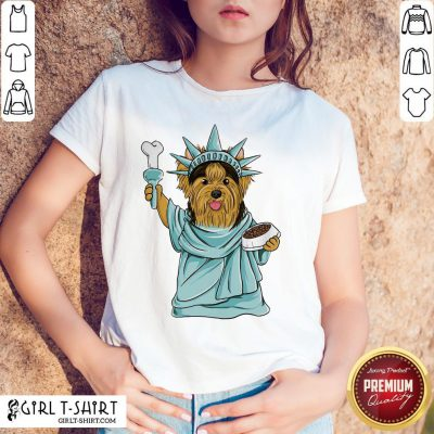 Official Yorkie Liberties T-Shirts - Design By Girltshirt.com