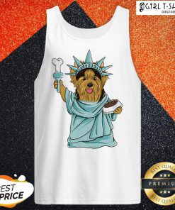 Official Yorkie Liberties Tank Top - Design By Girltshirt.com