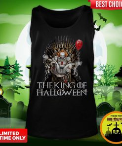 Pennywise The King Of Halloween Is Coming Sunset Tank Top