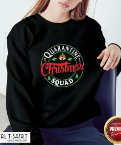 Perfect Quarantine Christmas Squad Bells Sweatshirt - Design By Girltshirt.com