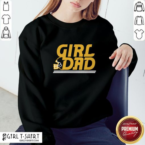 Photo KC Girl Dad Sweatshirt - Design By Girltshirt.com