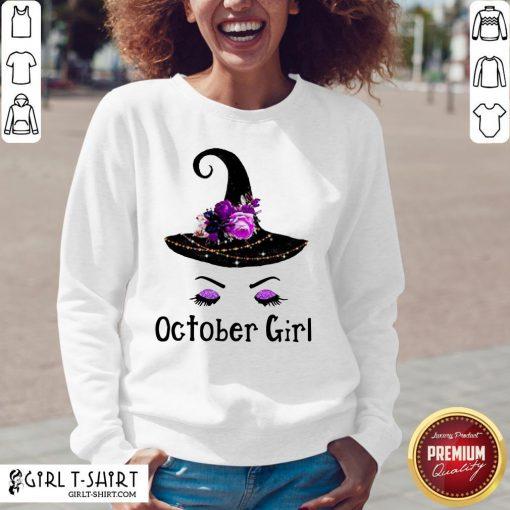 Premium October Girl Sweatshirt