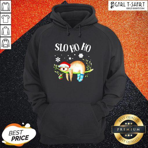 Sloth Slo Ho Ho Christmas 2020 Hoodie
