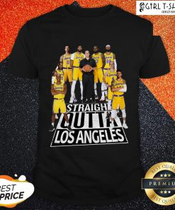 Straight Outta Los Angeles Lakers Shirt
