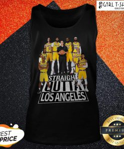 Straight Outta Los Angeles Lakers Tank Top
