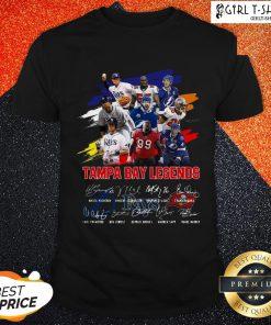 Super Tampa Bay Legends Signatures Shirt
